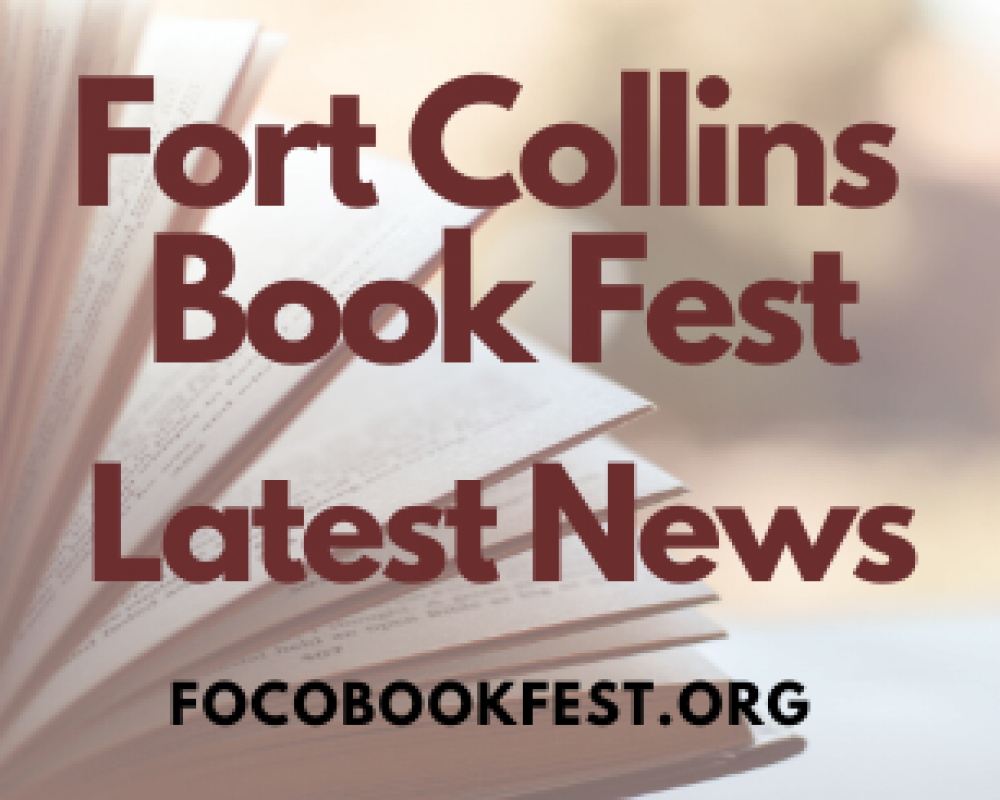 Fort Collins Book Fest Re-imagined This Year as a Virtual Community-Wide Gathering, To be Held Over Six Days in October