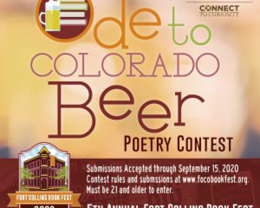 Ode to Colorado Beer Poetry Contest Submissions Open