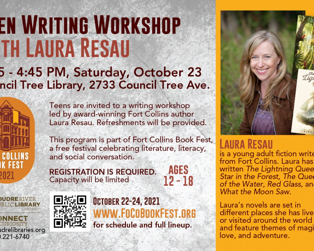 Teen Writing Workshop: Make Your World Come Alive