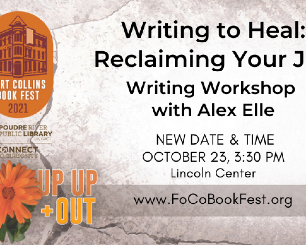 Writing Workshop: Writing to Heal: Reclaiming Your Joy